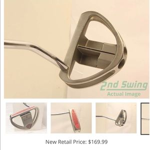 Golf putter-like new comes with protective cover